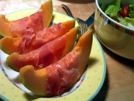 Melon with Jamon